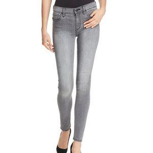 DL1960 Gray Emma Mid Rise Skinny Legging Jean 32